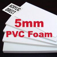 5mm High Density Foam Board ,  PVC Soundproof Foam Board For Printing Usage Manufactures