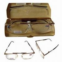 Folding Reading Glasses, Made of Stainless Steel Frame Manufactures