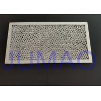 China Aluminum Expanded Micro Wire Mesh Filter Mirror Polished surface For Ventilator on sale