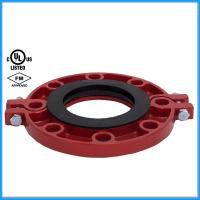 Ductile Iron Pipe Fittings Grooved Flange with FM UL Manufactures