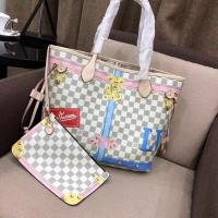 China LV bag, Louis Vuitton  original PVC fabric with super-fine leather Hand-held, single shoulder, meticulously made fashion on sale