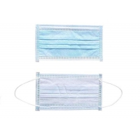 Large Stock Non Woven Public Place Anti Virus 3ply Face Mask Manufactures