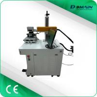 China 30W Fiber Laser Marking Machine Price and Metal Copper Aluminum Steel and Plastic Laser Marker on sale