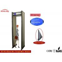 Walk through archway  metal detector gate  for public Security  metal scanner detector 45 zones detector XST-F45