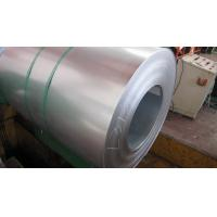 Regular Spangle Z10 / Z27 Zinc Coating 30mm to 400mm Hot Dipped Galvanized Steel Strip Manufactures