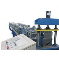 PLC Control Gutter Forming Machine Hydraulic Cutting For Rainwater Round Gutter Manufactures
