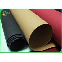 China Moisture Proof Multicolor Washable Recycled Kraft Paper Roll For Plan Bag on sale