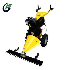 China hand push lawn mower/196CC Sickle Bar Mower/hand mini mower on sale