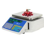 Dual Screen Design Digital Barcode Label Printing Scale Max Capacity 30kg Manufactures
