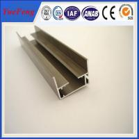 furniture aluminium powder coated profile,colors powder coated alloy aluminium extrusion Manufactures