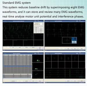 Quality 4 channels PC based 4-Channel EMG/EP system Machine EMG electromyogram Machine for sale