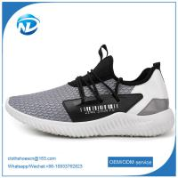 Hot Selling Textile Fabric Cloth Shoes For Men Cheap Sports Shoes Manufactures