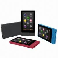 China 3.0-inch MP4 Players, Supports Touchscreen, Vibration and G-sensor on sale