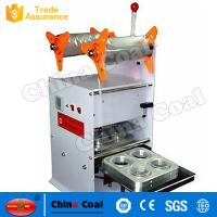 China Hot Sale Juice Cup Sealing Machine Fun NC4 Manual Plastic Cup Sealing Machine on sale