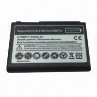 Mobile Phone Battery for BlackBerry 9800, Fully Decoded 1270mAh Battery Replaces F-S1 Manufactures