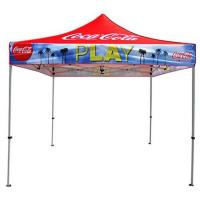 Exhibition Small Pop Up Tent 600D Polyester Material Machine Wash Feature Manufactures