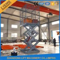 Fixed Stationary Hydraulic Scissor Lift Tables used for Cargo Lifting 3000kgs 3.8m with CE Manufactures