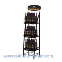 Wire Wine Bottle Display Rack Manufactures