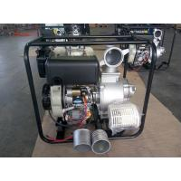 China Portable 4 Inch Diesel Driven Water Pump With Electric Start And Hand Start System on sale
