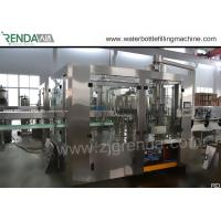 330ml Beverage Filling Machine PET Bottle Washing Filling Capping Machine 3.8KW Manufactures