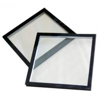 Quality Clear Low E Thermal Insulated Glass With High Wind Pressure Strength for sale