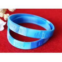 PMS Matching Rubber Support Bracelets Depressed Logo Process Waterproof Manufactures