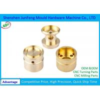 Custom CNC Brass Components , Brass Precision Components OEM / ODM Service Manufactures