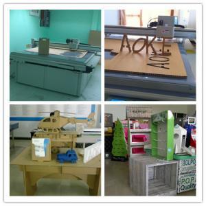 Fruit Carton Box sample maker flatbed cutter mock up machine Manufactures