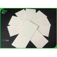 Quality 1.4mm 100% Virgin Pulp White Coaster Board For Making Car Air Fresher Or Coaster for sale