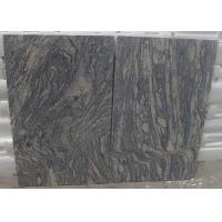 Polished G441 China Light Grey pink Juparana Imperial Sand Wave Granite Tread stone tiles slabs Manufactures