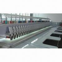 Flat embroidery machine with cutter, high speed of 1000rpm Manufactures