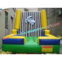 Velcro Walls,Sticky Games For Childrens Inflatable Sports Games 4L x 3.5W x 2.5H Meter Manufactures