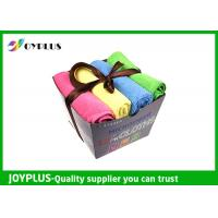 China Quick Drying Microfiber Cleaning Cloth For All Purpose Cleaning OEM / ODM Acceptable on sale