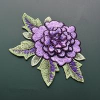 Polyester Embroidered Floral Appliques For Jackets 11 CM X 9 CM Multi Color Available Manufactures