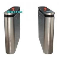 China Waist Height Barrier Turnstile Entry Systems Non Obstacle Light / Audio Alarm on sale