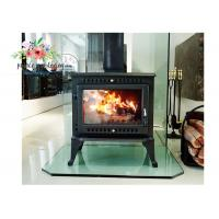 Environmental Promotional Free Standing Polished Cast Iron Fireplace 12KW Manufactures