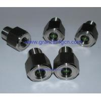 NPT 1/4 pressure stainless steel oil sight glasses SS304 100 bar  turbine chamber OEM and ODM service Manufactures