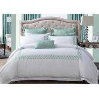 Simple Modern Bedding Sets 100% Cotton Embroidered With Twin / Queen / King Size Manufactures