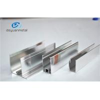Shower Enclosures Mirror Surface Extruded Aluminium Profiles With Color Silver Manufactures