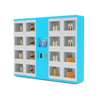 Electronic Lockers Drink Vending Machines For Beverage / Wine / Drink Water Manufactures