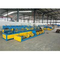China PLC Control Hexagonal  Fully Automatic Chain Link Fence Machine on sale