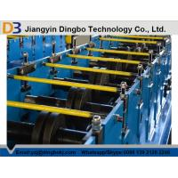 Gcr 15 Z purlin roll forming machine with 15 rows Rollers / PLC vector inverter Manufactures
