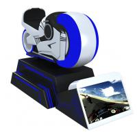 China Virtual Reality Manufacturer Arcade Dynamic VR Car Racing Motorcycle VR Driving Simulator on sale