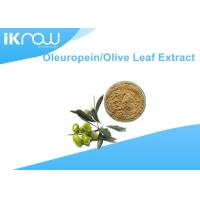 Brownish Yellow Olive Leaf Extract / Oleuropein 20%~60% For Health Manufactures