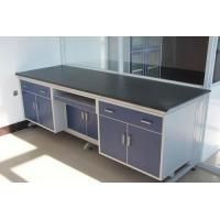 China PVC Edged Laminate Dental Work Bench , Abrasion Resistance Dental Clinic Furniture on sale