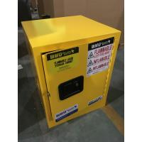 Single Door Fireproof Paint Storage Cabinets With Grounding Wire Connector Manufactures
