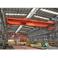 Overhead Electric Magnet Crane / 10 Ton Overhead Crane For Warehouses Manufactures