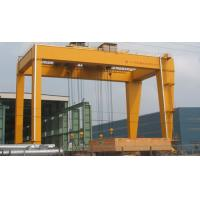 ME 320t Electric Overhead Gantry Crane for General Use with Hook , 23m Span Manufactures