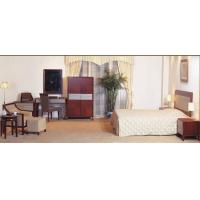 Hotel Standard room Furniture by Bedroom Sets wiht Cherry wood and Upholstered Headboard Manufactures