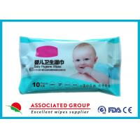 Antibacterial Water Baby Wipes Small Package With Soybean Plant Ingredients Manufactures